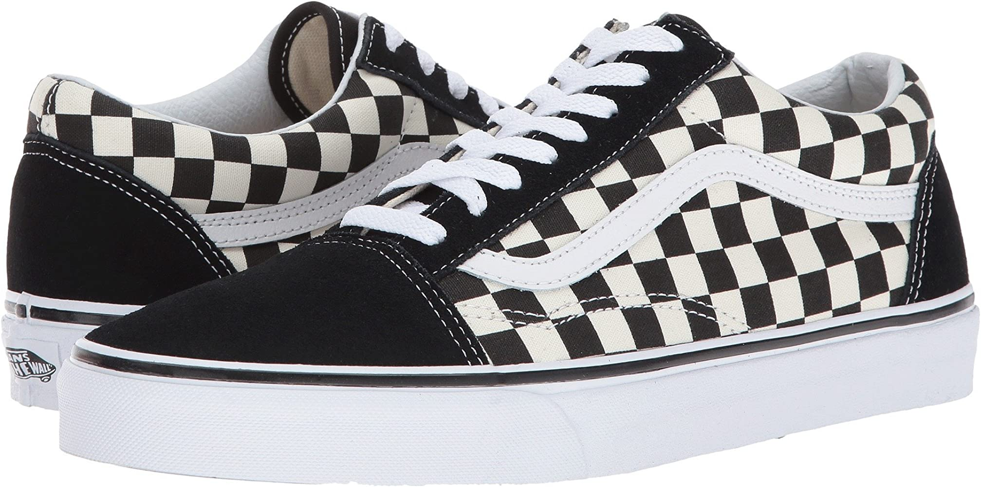 50% off on feet at hot-selling clearance Old Skool Primary Checker BLK/WHT Size 10.5 M US Women / 9 M US Men