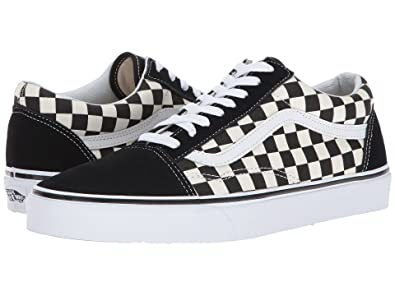 83b2b4d8c51de9 Vans Old Skool (Primary Checkered) Black White Size 5