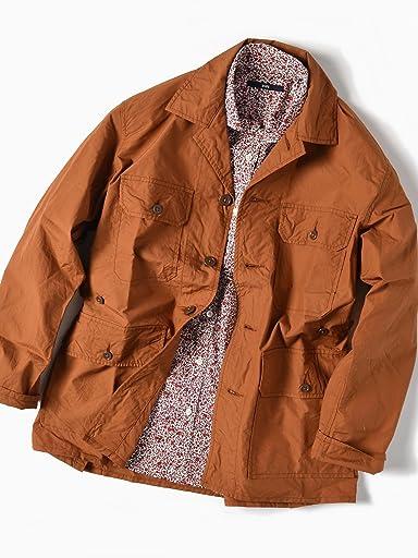 Safari Shirt Jacket 111-11-4027: Orange