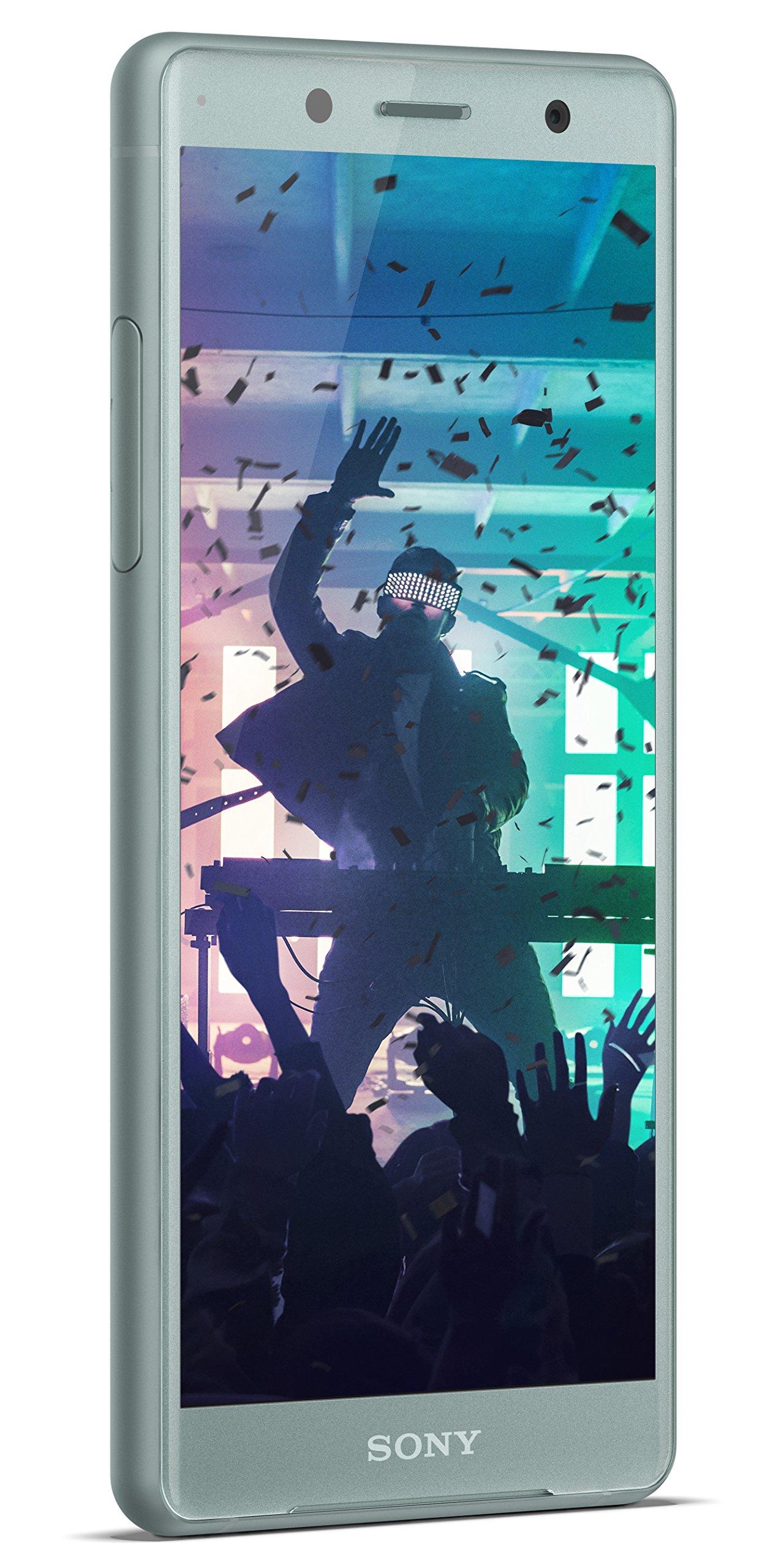 Sony Xperia XZ2 Compact Unlocked Smartphone - 5'' Screen - 64GB - Moss Green (US Warranty)