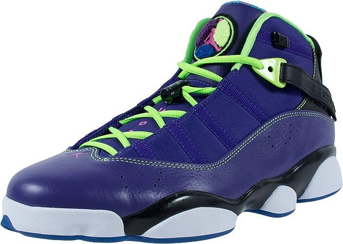 Nike Air Jordan 6 Anillos para Hombre Baloncesto Entrenadores ...