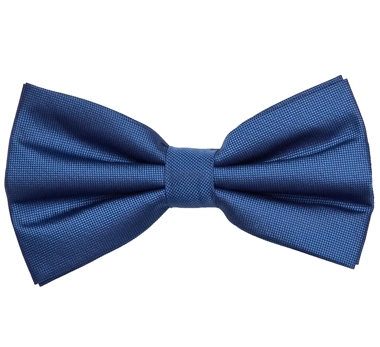 Fabio Farini Corbata de lazo color azul: Amazon.es: Ropa y accesorios