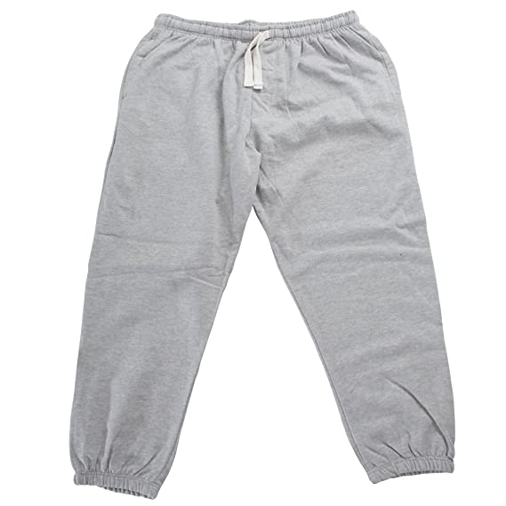 3e53982e0a43cb RedTag Sportswear Mens Elasticated Closed Cuff Plus Size Jogging Bottoms  (3XL) (Gray)