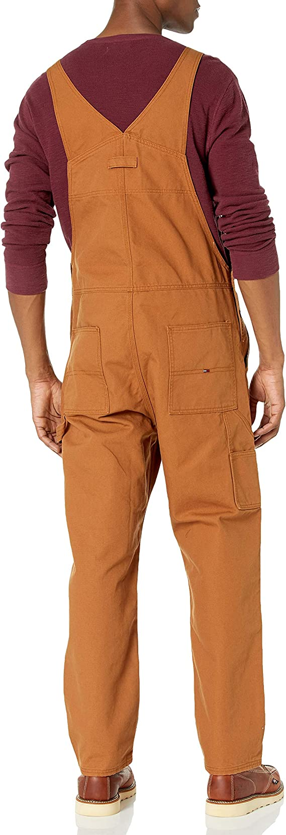 Tommy Hilfiger Mens Tommy Jeans Mens Overalls Casual Pants
