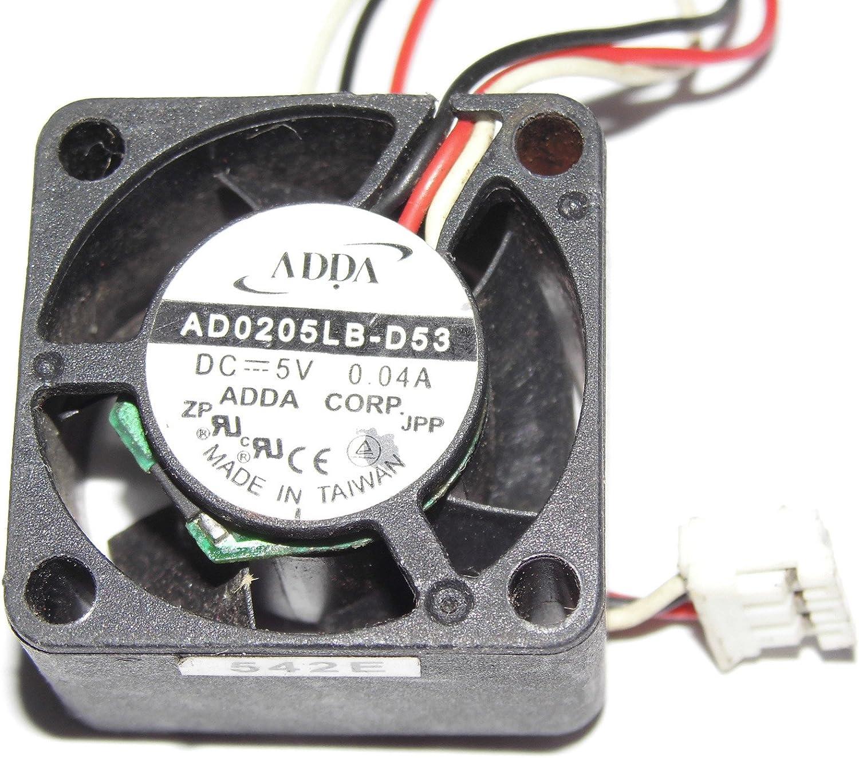 ADDA 2515 AD0205LB-D53 5V 0.04A 3Wire Cooling Fan