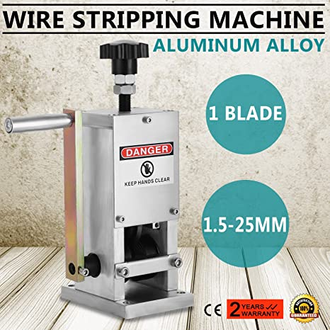 Autovictoria Máquina Pelacables Manual Cable Stripping Machine Φ1.5mm ~ Φ25m m Máquina de Desmontaje