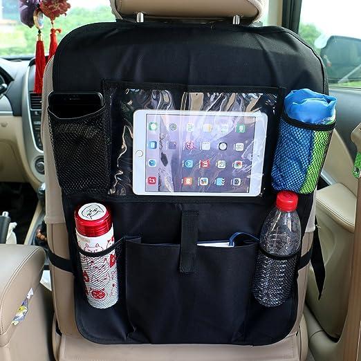 6 opinioni per TedGem Proteggi schienale sedile auto proteggi sedile auto,- organizer con