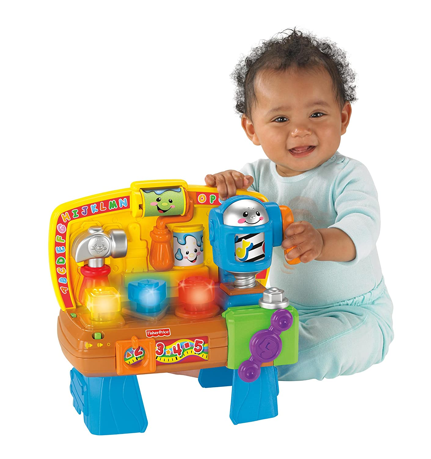 Amazon Fisher Price Laugh & Learn Learning Workbench Toys