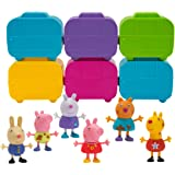 Peppa Pig Surprise Mini Camper 6 Pack, Includes 6 Mystery Figures and 6 Stackable Campervans