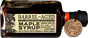 Woodinville, Whiskey Barrel Aged Gr A Maple Syrup, 8.5 Ounce