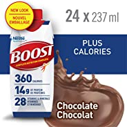 BOOST Plus Calories Chocolate, 24x237ml (Pack of 24)
