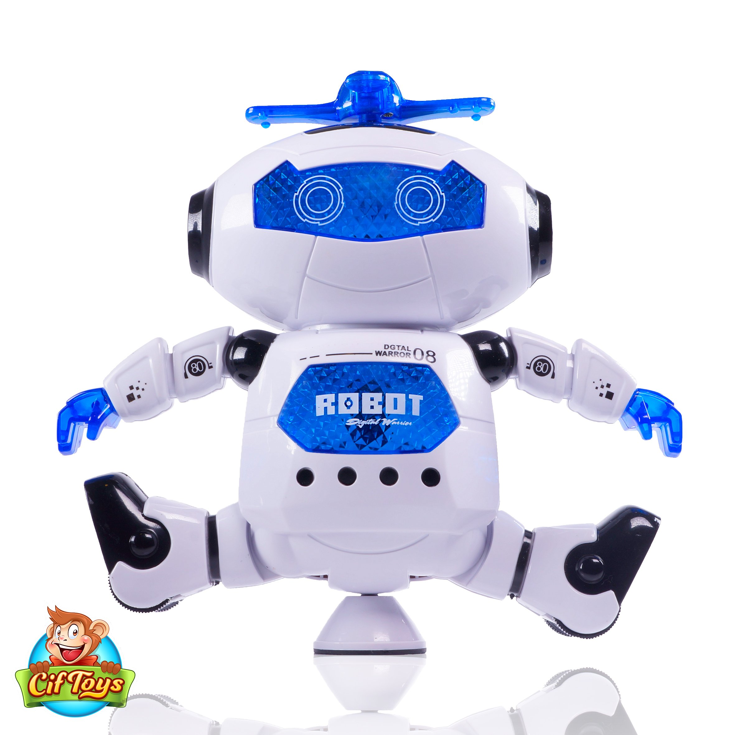 CifToys Electronic Dancing Robot Toy For Kids Boys Girls
