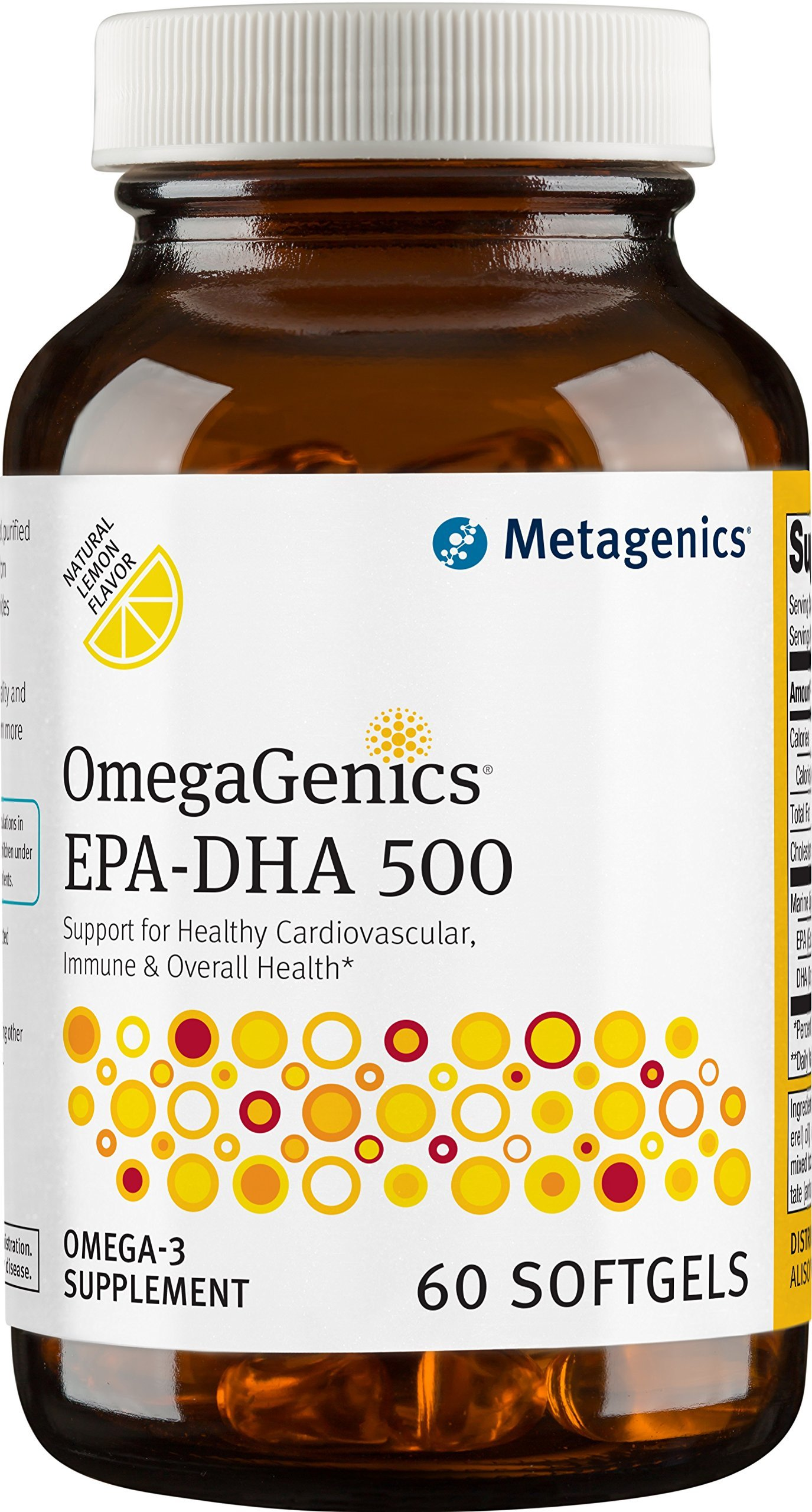 Metagenics - OmegaGenics EPA-DHA 500, 60 Count