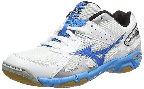 Mizuno Wave Twister 4 (W) Zapatillas de Voleibol de Sintético, para Mujer, Blanco, Talla 36.5 EU: Amazon.es: Zapatos y complementos