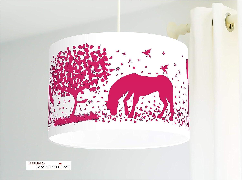 Kinderlampe Deckenlampe Pferde
