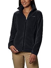 c33e3652b268f Columbia Women s Plus-Size Benton Springs Full-Zip Fleece Jacket