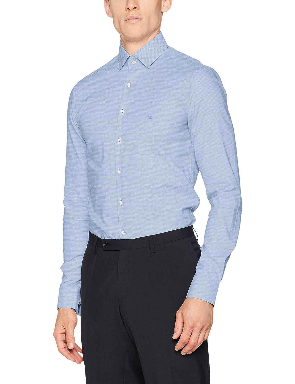 Calvin Klein Bari Slim Fit FTC, Camicia Formale Uomo