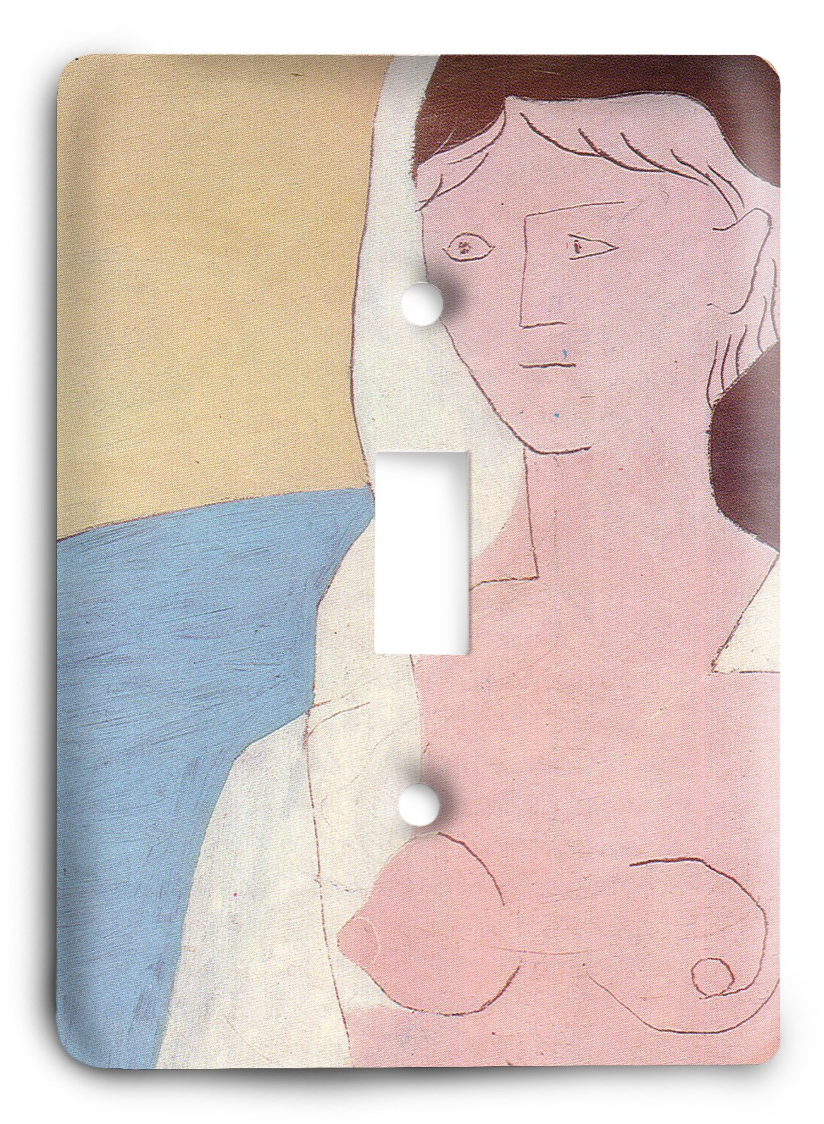 Pablo Picasso - Woman with a Mandolin 1925 Light Switch Cover
