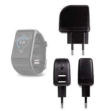 Chargeur Secteur de voyage USB pour montre connectée Garmin Vivoactive HR, OUKITEL A28 SmartWatch,