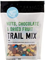 Amazon Brand - Happy Belly Nuts, Chocolate & Dried Fruit Trail Mix, 16 Ounce