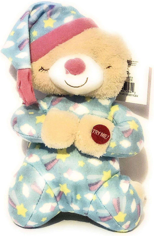 "Praying Bear Plush Recites Prayer /""NOW I LAY ME DOWN TO SLEEP/"""