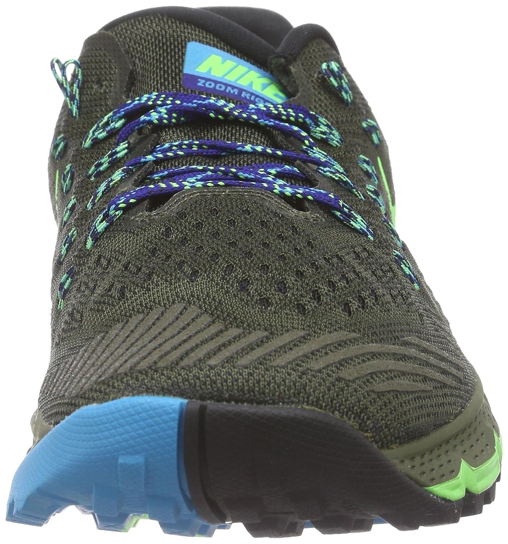info for dc10c 10d56 Nike Air Zoom Terra Kiger 3, Chaussures de running entrainement homme, Vert  (Cargo Khaki Voltage Green Gym Royal Blue Lagoon), 47 EU  Amazon.fr   Chaussures ...