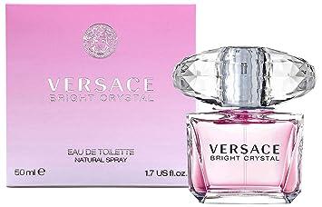 eb7958aab Amazon.com : Versace Bright Crystal Perfume for Women 1.7 oz Eau De Toilette  Spray : Womens Colognes Perfumes : Beauty