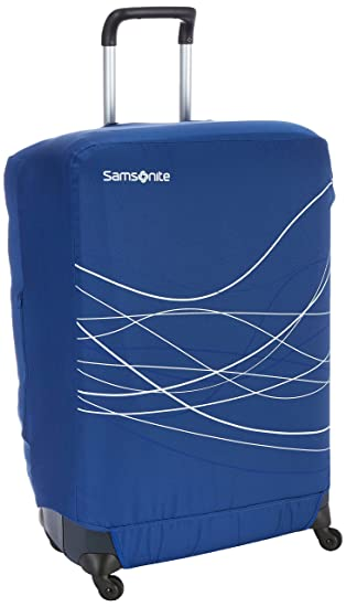 Samsonite Travel Accessories 5 - Foldable Luggage Cover L, Funda de Equipaje, Indigo Blue (Azul): Amazon.es: Equipaje