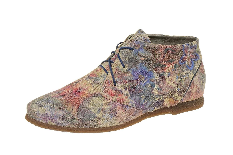 Think! Shua, Zapatos de Cordones Derby para Mujer 36.5 EU|pardo