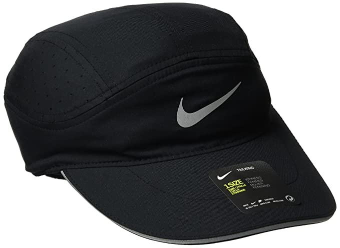 6ba8451642454 Amazon.com  Nike Womens Elite Arobill Tailwind Hat Black Black ...