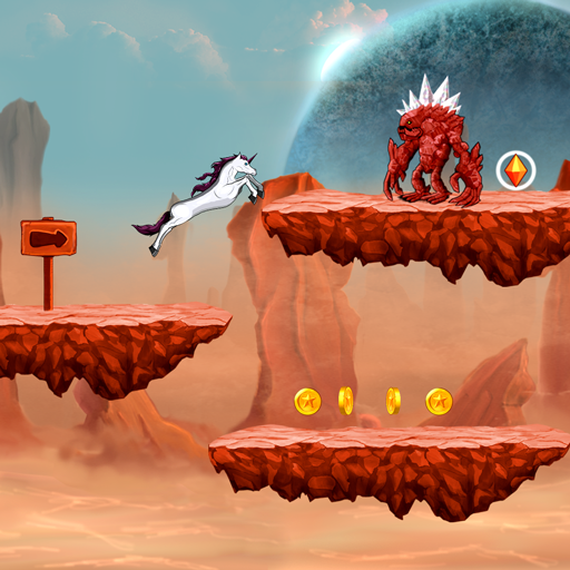 Unicorn Run (2d Games)