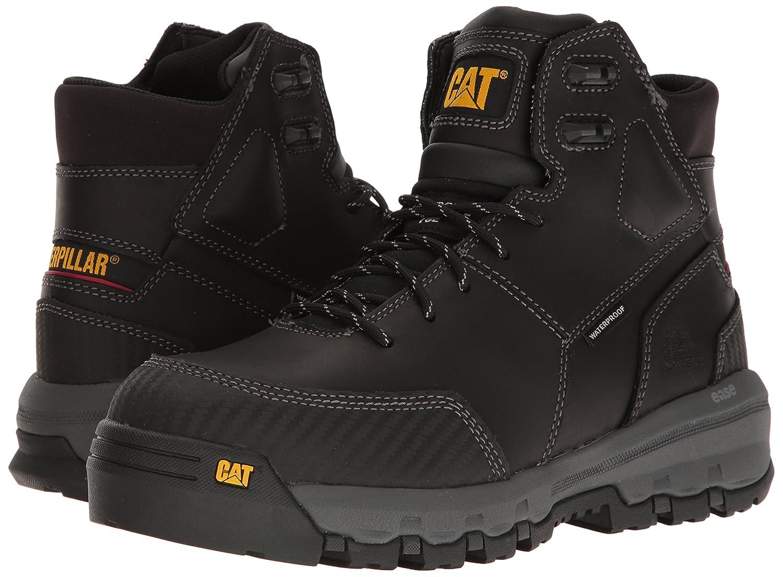 ec6d3e00c4b Caterpillar Men's Device Comp Toe Waterproof / Black Work Boot