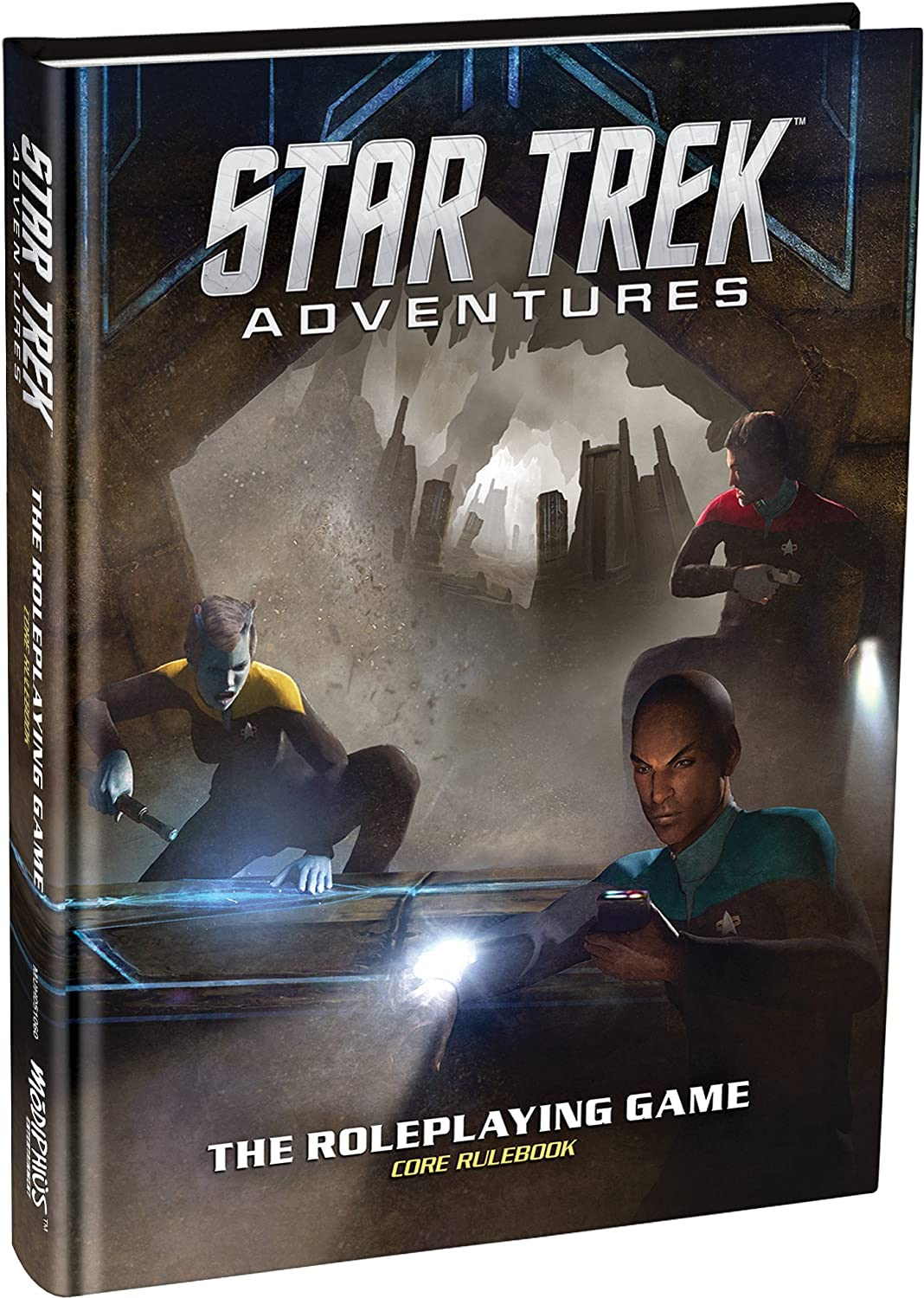 Amazon.com: Modiphius Entertainment Star Trek Adventures Core Rulebook Role  Playing Game: Toys & Games