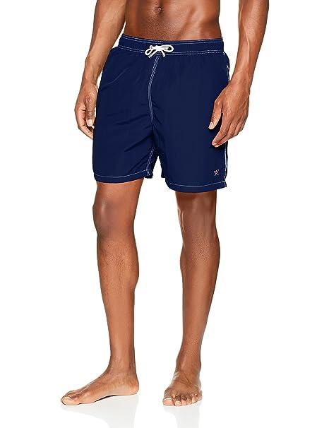 Hackett Solid Volley, Pantalones Cortos para Hombre, Azul (Navy 595), (Talla del Fabricante: X-Large) Hackett