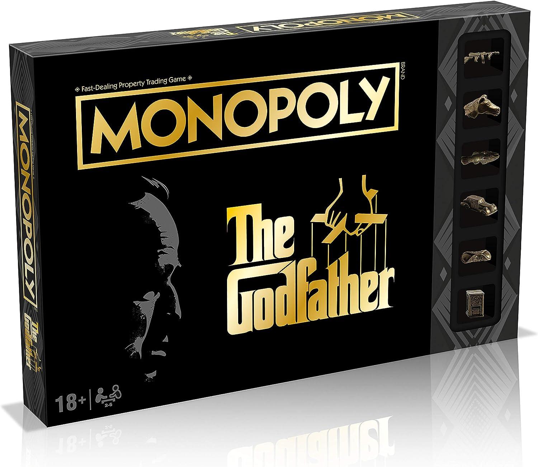 #Juegodemesa Monopoly El Padrino por sólo 16,39€