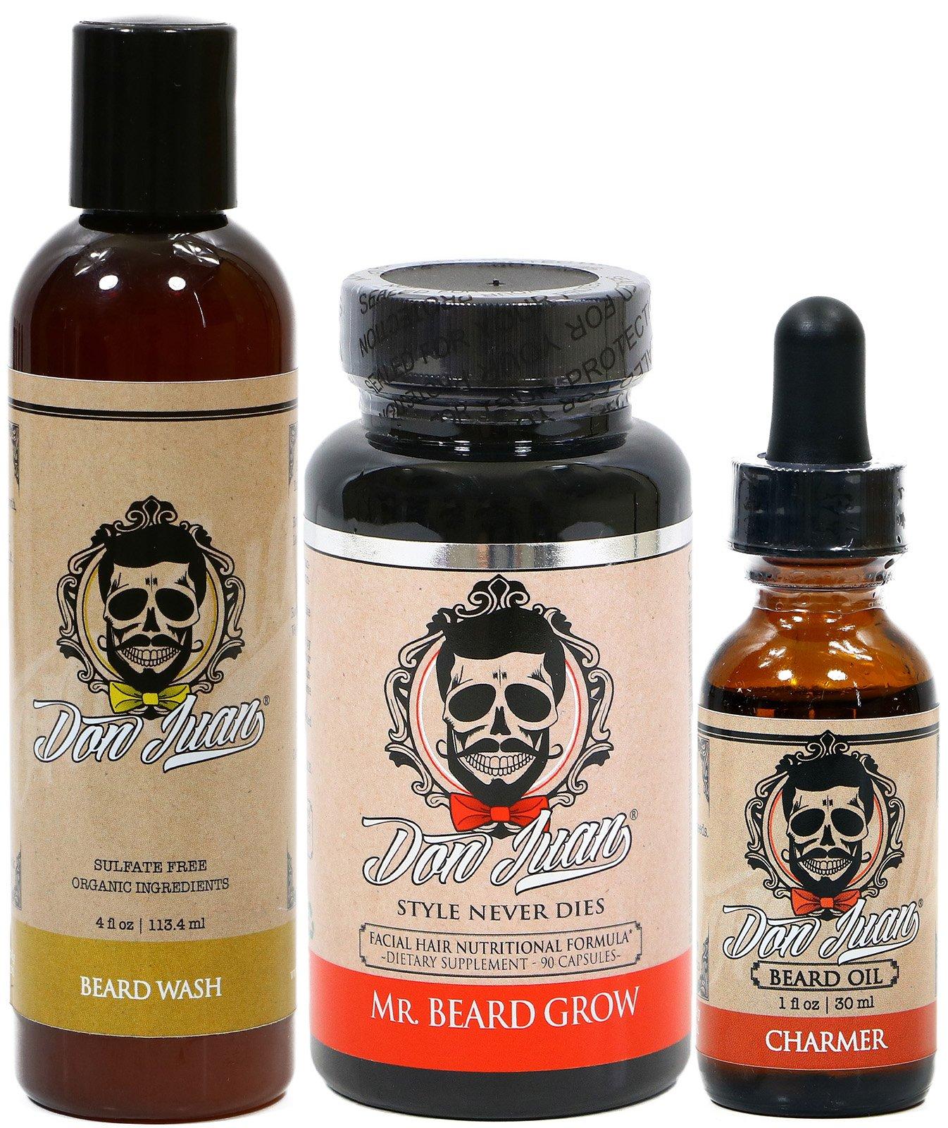 Don Juan Charmer Ultimate Beard Care Kit