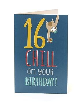 Age 16 Birthday Card