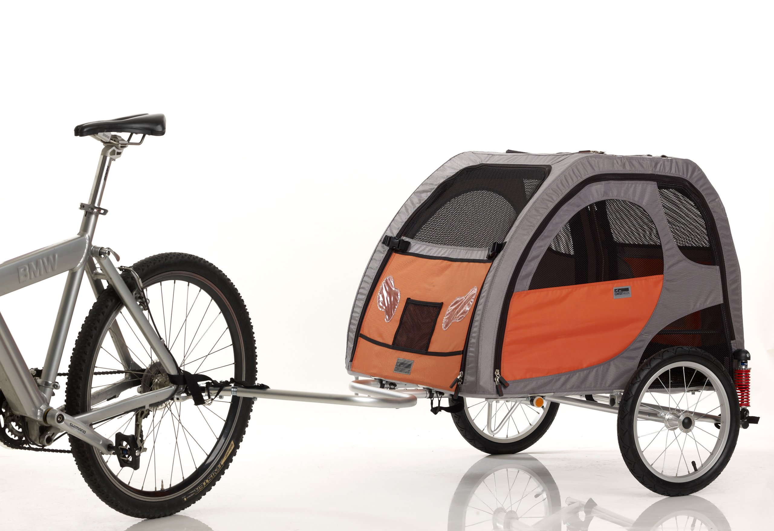 Petego Comfort Wagon Bicycle Pet Trailer, Large