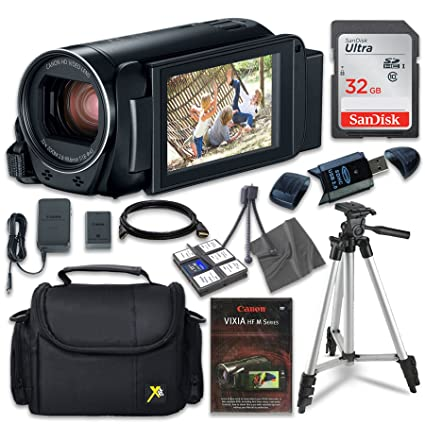 49785f13db7 Image Unavailable. Image not available for. Color: Canon VIXIA HF R800  Camcorder ...
