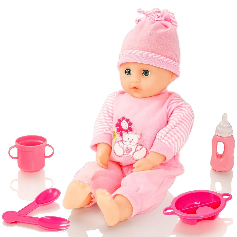 Molly Dolly Sweet klingt sprechende Mädchen Baby Doll & Zubehör