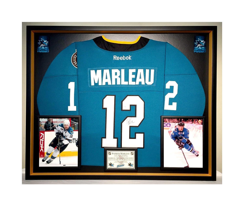 huge selection of f0c89 f3c8b Premium Framed Patrick Marleau Autographed/Signed San Jose ...