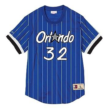 quality design 462de 7bb99 Mitchell & Ness Shaquille O'neal Orlando Magic NBA Mesh Jersey Shirt - Blue
