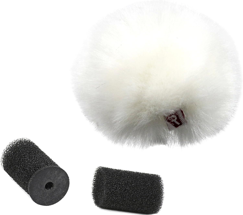 Rycote Antivento in Pelo per Microfoni Lavalier Bianco