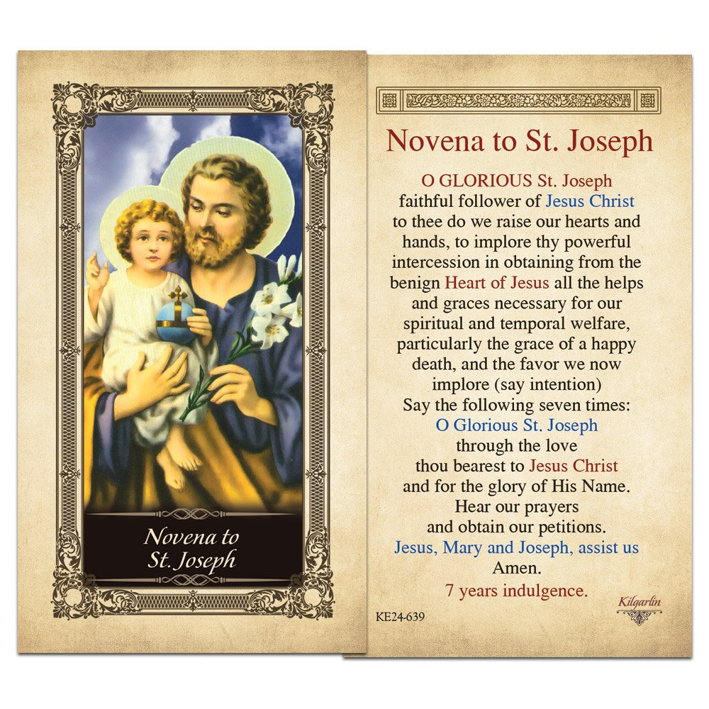 St joseph 30 day novena