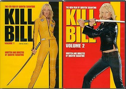 Amazon Com Kill Bill Vols 1 2 Uma Thurman Quentin Tarantino Lucy Liu Vivica A Fox Daryl Hannah David Carradine Robert Richardson Michael Madsen Movies Tv
