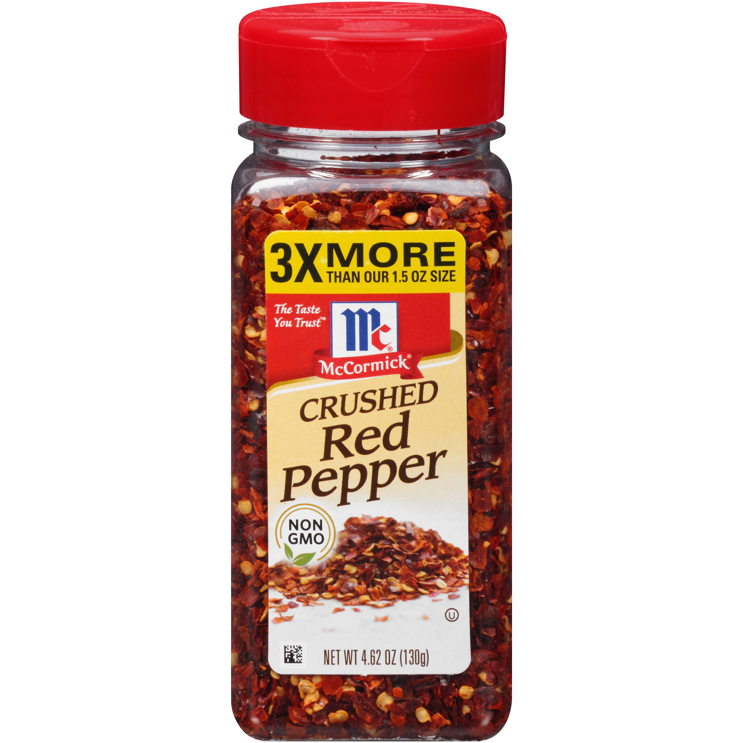 McCormick Crushed Red Pepper, 4.62 OZ (Pack of 1) by McCormick Spices (Image #1)