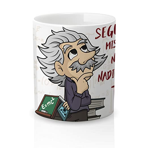 Yujuuu! | Taza cerámica Original Amor Pareja Einstein ...