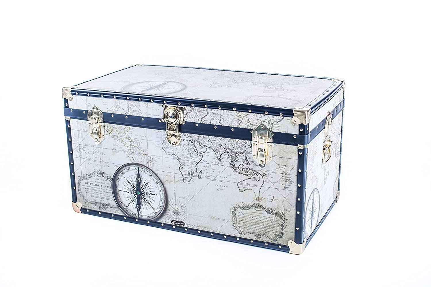 Mossman Original TUCK BOX Flip Lock ATLAS Trunk Storage Box Chest Steamer Case Home Furniture British Made