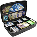 Surdarx Large 2300+ Playing Cards Case Portable Organizer Travel Game Cards Case for Pokemon, UNO, C. A. H, Main Card Game, P