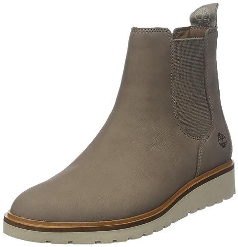 timberland chelsea boots damen grau